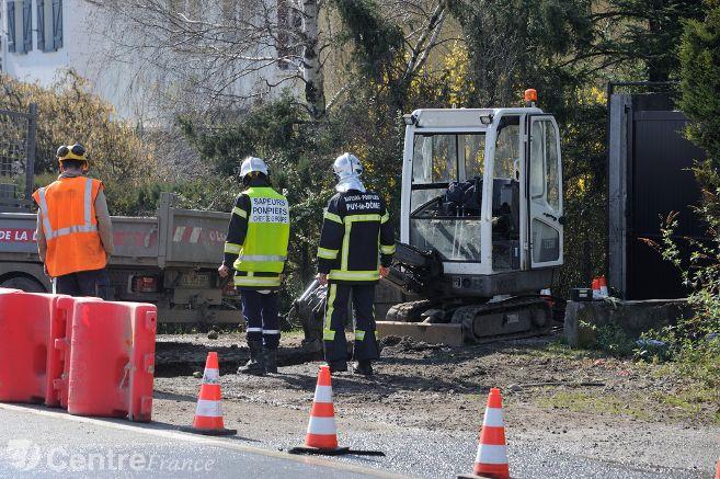 Puy-de-Dôme : Fuite de gaz dans une zone commerciale