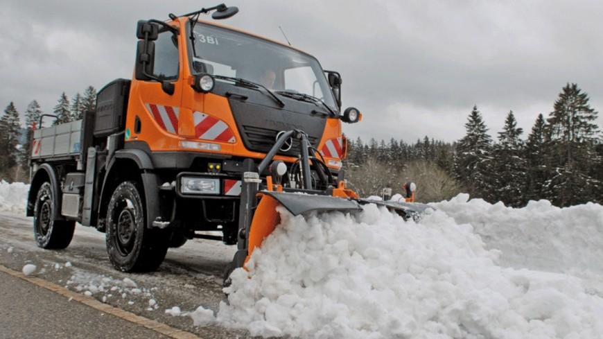 Cantal : conditions de circulation difficile sur une partie du département en raison de chutte de neige