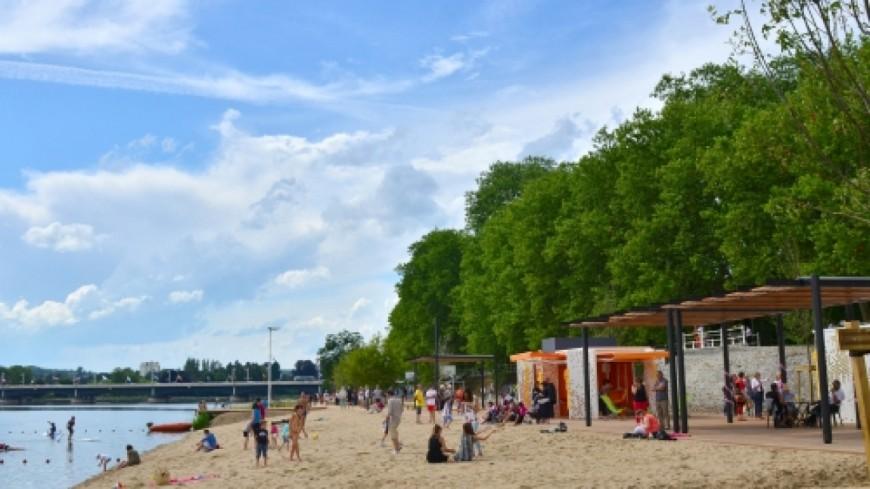 Vichy : l'été bien installé avec la plage des Célestins
