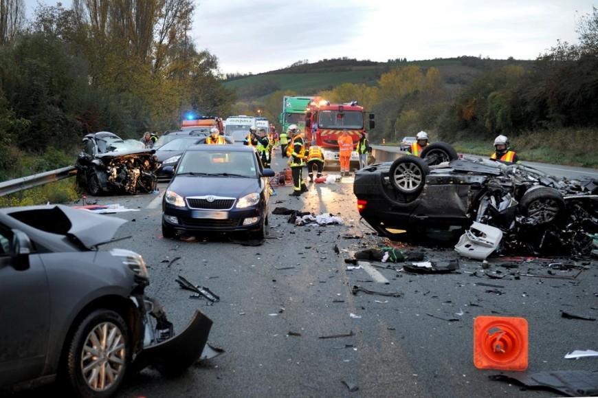 La Roche-Blanche : grave accident sur l'A75 avec un véhicule à contresens