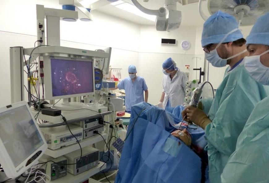 Opération inédite à l'hôpital du Puy-en-Velay