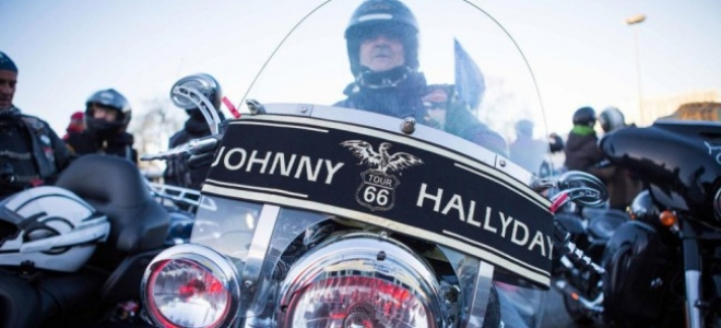 Clermont-Ferrand : les bikers rendent hommage à Johnny Hallyday