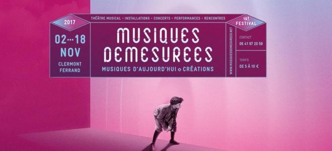 Clermont-Ferrand : 19ème édition du Festival Musiques Démesurées du 2 au 18 novembre